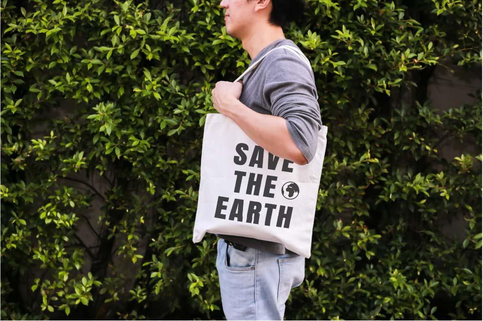 PLPT ร่วมกันใช้ถุงผ้าแทนถุงพลาสติก